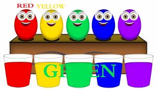 Learn Colors For Kids, Toddlers, Children  With Surprise Eggs Ducks Best compilation!