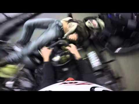 GoPro Hero Go-kart Crash