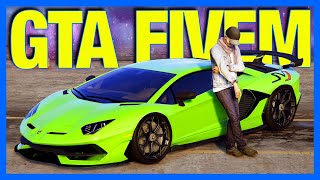 GTA 5 FiveM : Crazy Supercars and Cops & Robbers!!