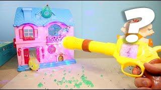Вредные Игрушки - Розовый домик для мужиков, антистресс Дельфины с икрой, Диско пестик
