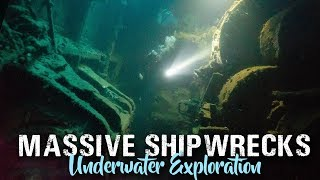 SCUBA DIVING Coron Palawan Philippines | WRECK diving w/ Exploring with Cody