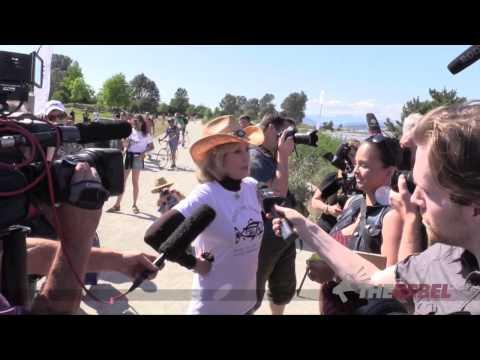 Jane Fonda's oil sands protest hypocrisy