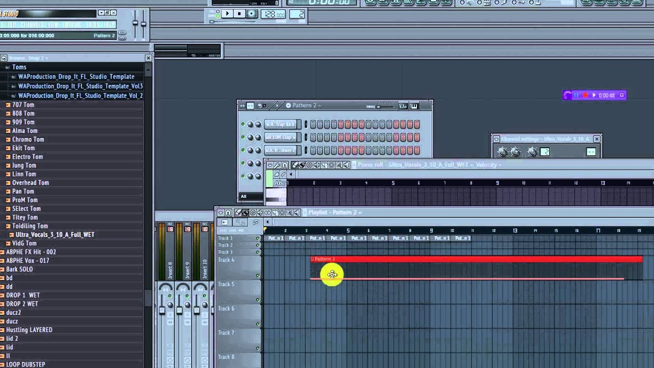 how to change tempo fl studio