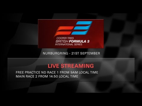 Cooper Tires F3 - Nurburgring - 2013 - 10:50am Local