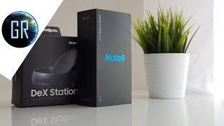 GlobalReview - Распаковка и обзор Samsung Galaxy Note 8 и бонус Dex