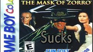 The Worst Games Ever Made -The Mask of Zorro. Remastered .