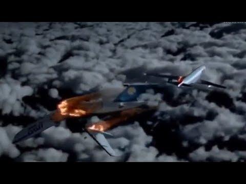 Bashkirian Airlines Flight 2937/DHL Flight 611 - Crash Animation