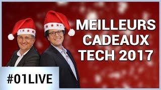 Les meilleurs cadeaux Tech de Noël ! 01LIVE HEBDO #168