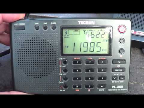 Radio Japan French from Madagascar Tecsun PL 680 VS 380 DXpedition