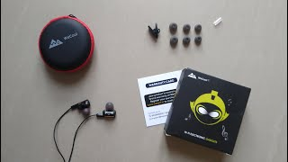 WeCool W008 Earphones | Unboxing & Overview | Dual Driver Technology
