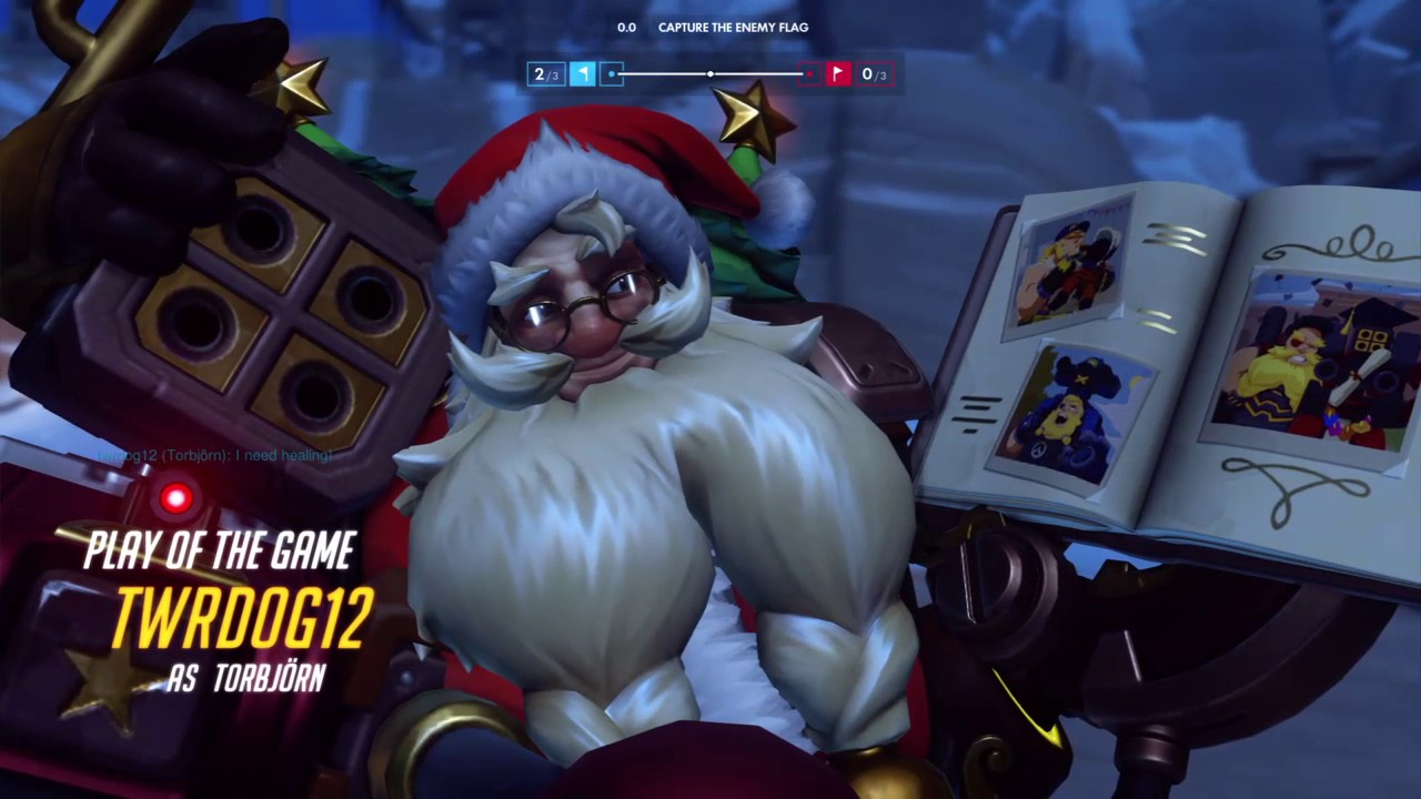 Hope You Like your Gift!   Overwatch POTG 6 - YouTube