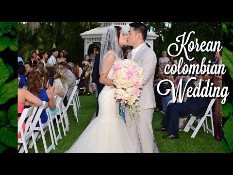 Our Korean-Colombian Wedding (INTERNATIONAL WEDDING) ❤️ 국제결혼식 SUPER EMOTIONAL!