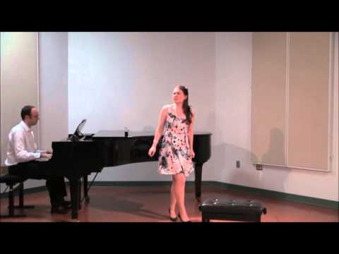 Caitlin Wood, Soprano - Glitter And Be Gay