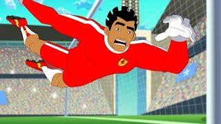 Supa Strikas | Big Bo, Zu Gehen | Fußball-Cartoons für Kids | Sport Cartoon