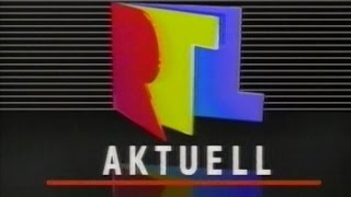 RTL plus - RTL aktuell Intro (1991)