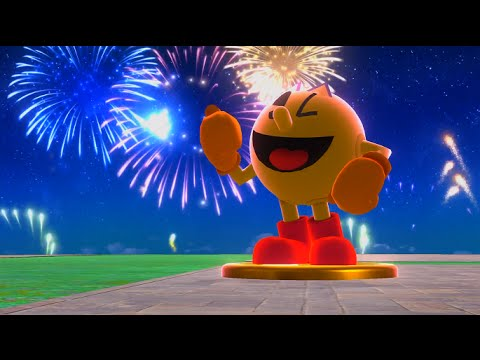 Super Smash Bros. For Wii U - Classic Mode - Pac-Man (9.0 Intensity)