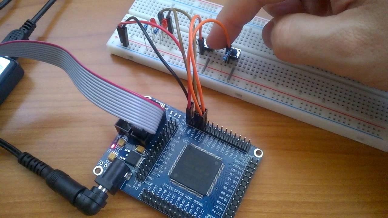 Altera Cyclone II EP2C5T144 FPGA Mini Board