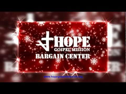 HopeGospelMission_Bargain Center_ Christmas Sale TV Spot