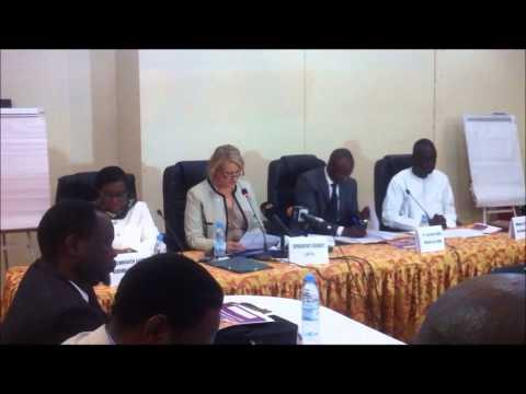 Restitution des résultats de l'étude sur le travail domestique au Sénégal: Andrea Wojnar Diagne