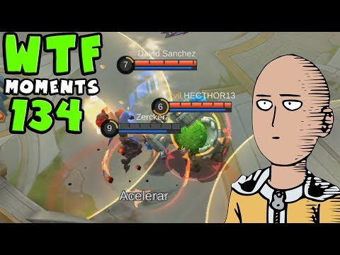 This is Possible ? - Mobile Legends WTF Moments Funny Moments Episode 134