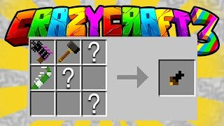 Minecraft CRAZY CRAFT 3 'CRAFTING BERTHA'S HANDLE!' #18 (Orespawn Mod) | w/ PrestonPlayz