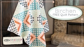 Birchen Quilt Pattern For Art Gallery Fabrics And Fat Quarter Shop