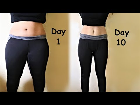 Lose Thigh Fat in 1 WEEK Get Slim Legs with Easy Workout & Exercises | Toned Legs & Thighs