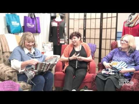Celebrity Knit Night with Fiona Ellis and the Grocery Girls