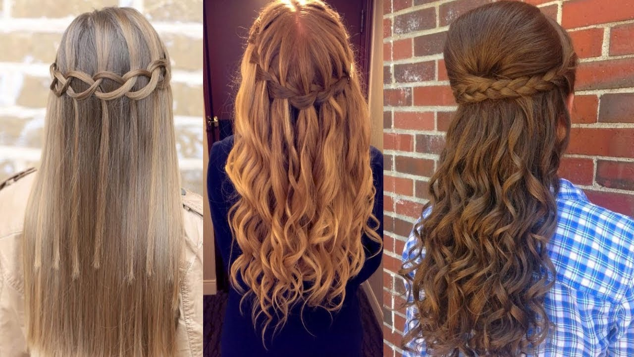 cute teen long hair styles