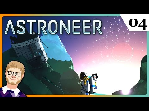 Crashed on Mountain Peak ► Let's Play Astroneer Part 4 ► Astroneer Gameplay
