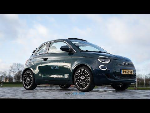 Impressie van de Fiat 500e la Prima