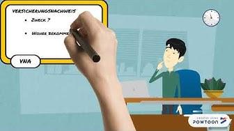 6. Video - MF - Versicherungsnachweis und Geltungsbereich