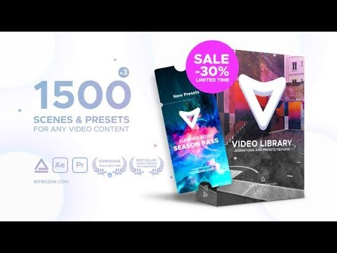 Video Library - Video Presets Package | After Effects