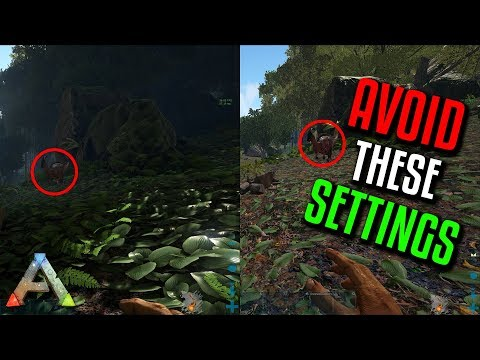 ARK - Ultimate PvP Settings Guide | PvP Tips - YouTube