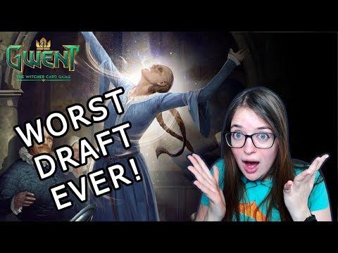 Gwent | Arena  Draft | WORST DRAFT EVER!