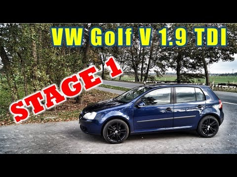VW Golf 5 V Jetta 1.9 TDI TOP SPEED NO LIMIT AUTOBAHN GERMANY