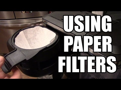 Using Paper Filters - Ninja Coffee Bar
