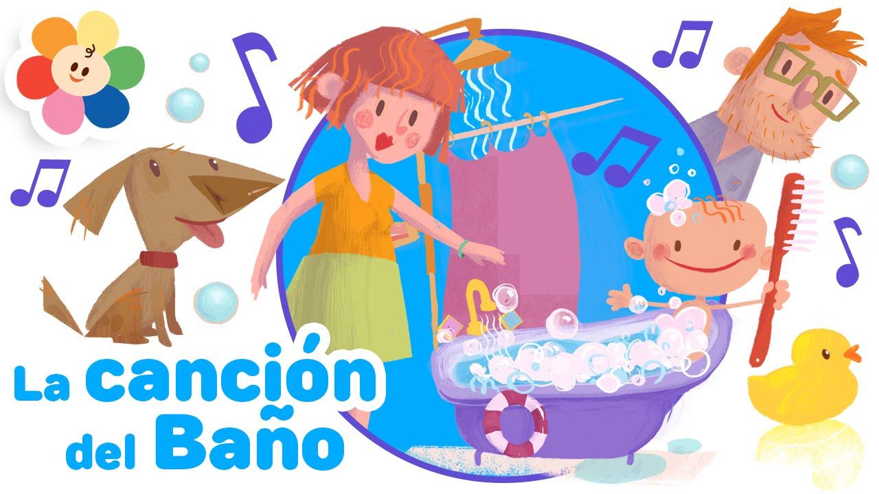 La Canción del Baño  Canciones para Niños  Canciones ...