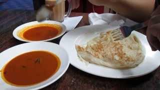 Roti Canai, Lotus Nasi Kandar Penang, Food Hunt