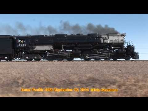 "Union Pacific 3985 & ""Full Throttle"" Steve Lee,  UP Engineer"