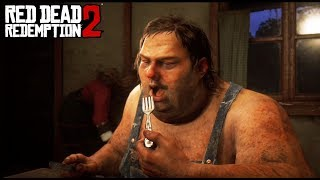 RED DEAD 2 - ME DAN DE COMER CARNE HUMANA! 🤮🤢 - NexxuzHD