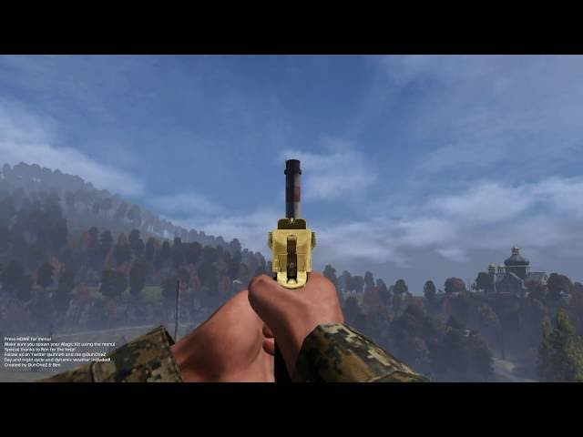 New Player Animation & Weapons for DayZ Standalone 0.63 + 0.64