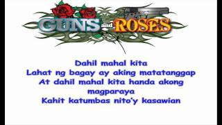 Dahil Mahal Kita by Jovit Baldivino  in HD with Lyrics