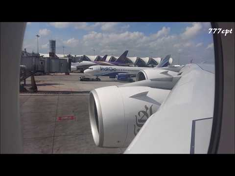 Emirates  |  EK377  | 2 Class A380  |  Bangkok - Dubai  |  Full Flight  HD