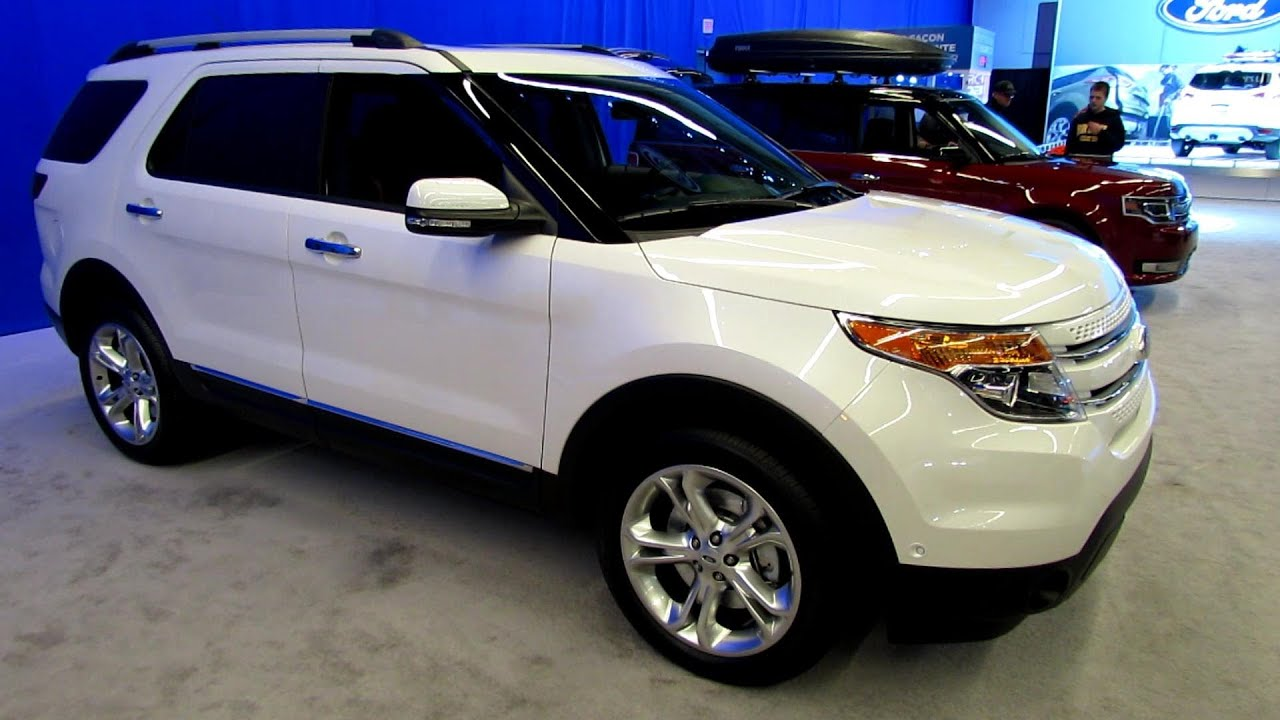2013 Ford Explorer Limited   Exterior And Interior Walkaround   2013  Montreal Auto Show   YouTube Ideas