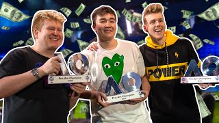 How Click WON a Fortnite Tournament | VLOG