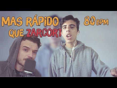 SUPERO A ZARCORT | ¿Rapear Más Rápido? Imposible! | Reto Super Velocidad - Secplay