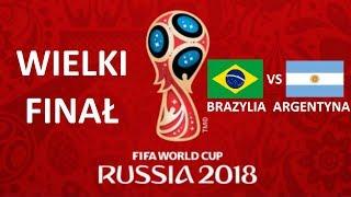 TURNIEJ PANINI WORLD CUP RUSSIA 2018 - WIELKI FINAŁ - BRAZYLIA VS ARGENTYNA !