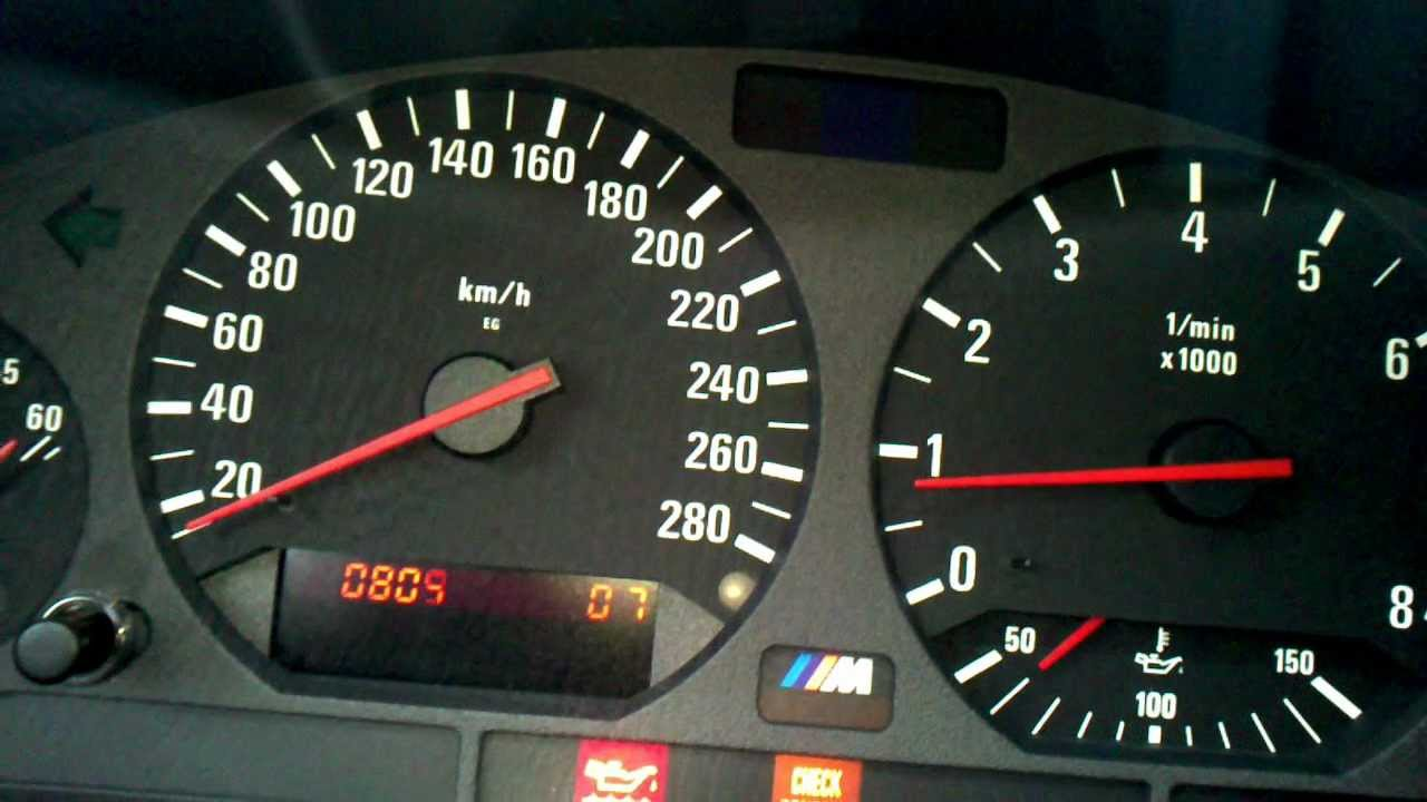 Bmw E36 Digital Rpm On Display Hidden Features Youtube