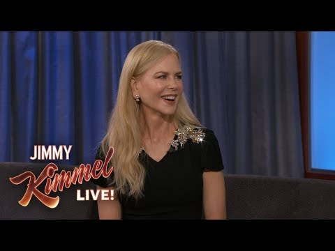 Nicole Kidman on Keith Urban, Kids & Playing Jason Momoa's Mom